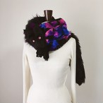 数量限定 Black wolf snood