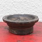 バター茶碗タシャー 逆卍彫り