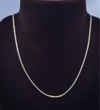 高品質Silver925パーツ・フレンチロープチェーン(長さ45cm 幅約2mm)太め