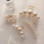 pearl hair clip 3type