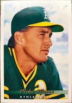 MLBカード 93UPPERDECK Mike Moore #182 ATHLETICS