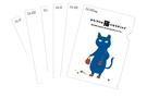6枚X青い猫クリアファイル【お得なセット】