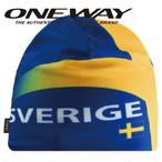 ONE WAY ワンウェイ キャップ フラッグハット スウェーデン スキー クロスカントリー ow715132-SWE