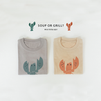kids t-shirt 【lobster】
