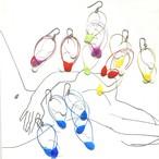 \ \ 期間限定 //  dodo ピアス [ keicofujita コンテンポラリージュエリー ]  両耳 L80 / 130