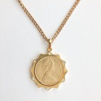 coin necklace[n-257]