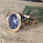 Georgian Ceylon Sapphire Ring