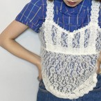 (LOOK) flower lace camisole