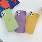 【オーダー商品】Simple solid color iphone case