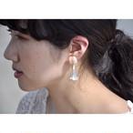 tiravisù【pale pink bouquet _ earring 】vintage handmade イヤリング japan