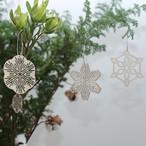 snow ornament large set / 雪のオーナメント大3個セット