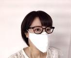メガネマスク ホワイト Mサイズ