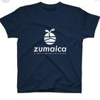 zumaica 半袖Tシャツ ネイビー