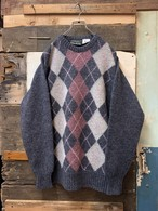 old argyle pattern sweater