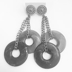"""AVON"" Neutral Hues earring[e-796]"