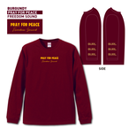 【予約販売】PLAY FOR PEACE LONG SLEEVE