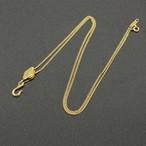 ヴィンテージ ティファニー/ラルフローレンコラボレーションネックレス Nautical (航海)シリーズ pulley (滑車)pendants K18YG