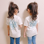 ★Kids★ GOOD VIBES Tee - Vanilla white
