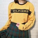 ○ 90s TOMMY HILFIGER big rogo LS t-shirts ○