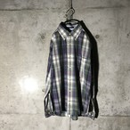 [TOMMY] rare colour checked shirt