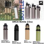 ORCA Bottle 22oz オルカ ボトル 22オンス キャンプ用品 アウトドア キャンプ グッズ ステンレス ドリンク 持ち運び 保冷 保温 こぼれにくい