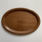 60-70's W.Germany Vintage Wood Tray 2Pset _03(西ドイツ ヴィンテージチークトレイ 2個セット)