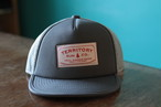 Territory Run Co./LOOWIT ATHLETIC TRUCKER HAT(GREY)