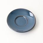 【SL0054】磁器 コーヒーソーサー ネイビー