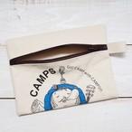 CAMPS ジッパード ポーチ【みのむし】