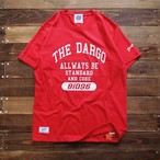 "【DARGO】""College Logo"" T-shirt (RED)"