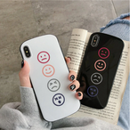 【オーダー商品】Simple smiley face iphone case