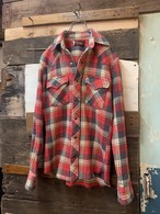 80's wrangler western flannel shirt