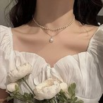 vintage pearl choker 2color