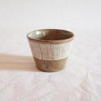【西口佳子】 A フリーカップ 線 (美濃焼)