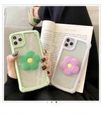 【オーダー商品】グリップ付き flower bracket iphone case