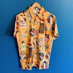 フリーダカーロのフラッシュワークアロハシャツ