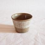 【西口佳子】 B フリーカップ 線 (美濃焼)