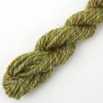 コリデールツイード グリーン系no1 オーダー用糸サンプル ( twe2) 手紡ぎ毛糸オーダー(送料込)