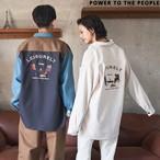 CAMP刺繍オーバーシャツ NO0701018