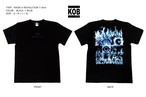 RAISE A REVOLUTION T-shirt BLUE FIRE