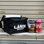 """WORK HARD"" NYLON COOLER BAG"