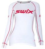 スウィックス swix レースボディ ホワイト ベースレイヤー ボディウェア レディース インナー スキー スノーボード スノボ クロスカントリー 登山 キャンプ フィットネス ウェア
