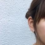 silver round pierce
