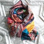 Kantha Silk Stole (Pachwork Type)