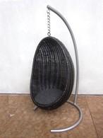 ミニハンギングチェアー 1/5サイズ(ブラック色)