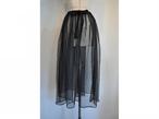 【RehersalL】mesh skirt(black) /【リハーズオール】メッシュスカート(black)