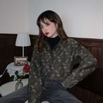 【送料無料】 レトロカラー♡ 大人可愛い カジュアル 小花柄 ブラウス シャツ トップス 羽織り 日除け 冷房対策