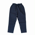 COOKMAN CHEFPANTS PINSTRIPE NAVY