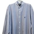 【USED】リメイク ラルフローレン バンドカラーシャツ
