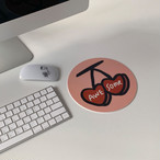 [MAZZZZY] cherry mouse pad